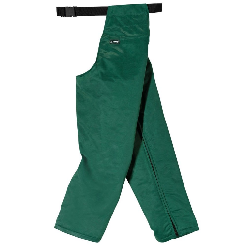 Genuine STIHL Cut Protection Chaps Design C (Green)